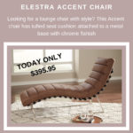 Day 5 - an Elestra Accent Chair for only $395.95 at Ashley HomeStore of Marquette.