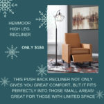 Add some modern comfort to your home with this Hemmoor Recliner for just $184