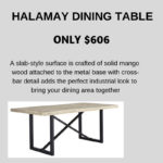 Get a new dinning room table just in time for Christmas Dinner with the family.