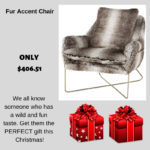 Sink in to this cozy fur accent chair from Ashley HomeStore. It's just $406 now in store.