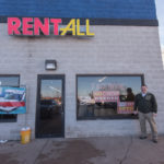 Calvin at Rent-All of Marquette of US-41.