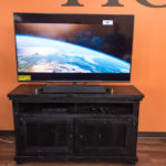 """The 55"""" inch 4K Smart TV Package."""
