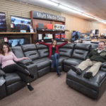 With a new entertainment system, you might want to upgrade your furniture too!
