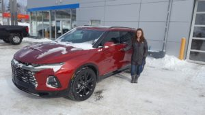Come get this 2019 Blazer - the first of its kind in the U.P.