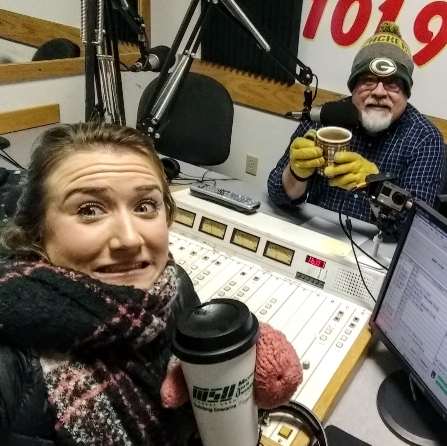 Kelsey & Walt are still here for you on this COLD day, The Sunny Morning Show