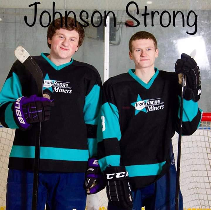 Kyle & Jake Johnson PHOTO CREDIT: Iron Range Hockey Association