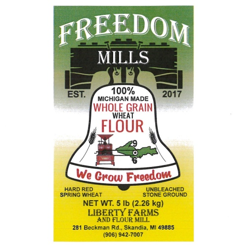 Get a bag of local flour from right here in Marquette County.