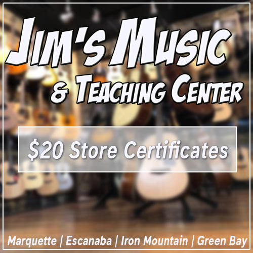 Visit Jim's Music and save!