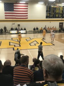 Negaunee Miners fall to the Iron Mountain Mountaineers 54-42.