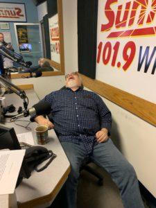 "Walt in ""Resting Finn Pose"""