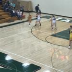 Negaunee possesses the ball in the corner.