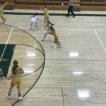 Negaunee drives to the basket in big win over Manistique.