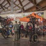 Test out a bike at the Superior Dome.