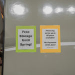 Northern RV is even offering free storage until spring and financing.