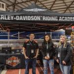 The Harley-Davidson Bald Eagle Crew.