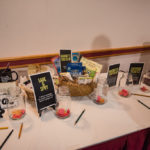 Of course there had to be some Marquette Food Co-Op giveaway items too!