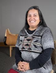 April Lindala, Professor of Native American Studies at NMU