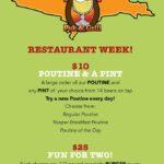 Grab a burger or sandwich from Restaurant Week.