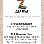 Have you stopped in to Marquette's wine bar? Visit the Zephyr!