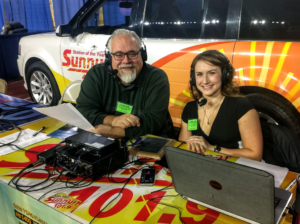 Walt and Kelsey Live at the U.P. Builder's Show on Friday, March 8, 2019