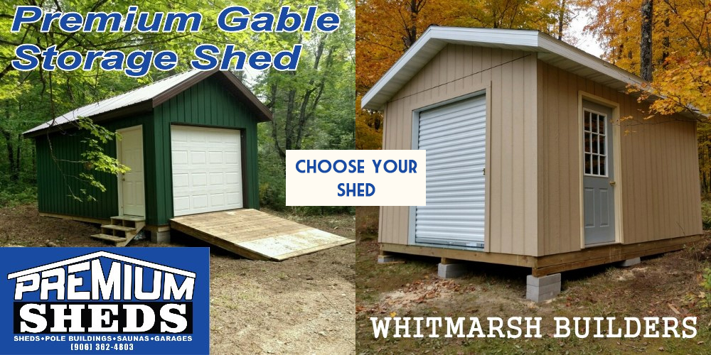 We've discounted our sheds to just $5,000!