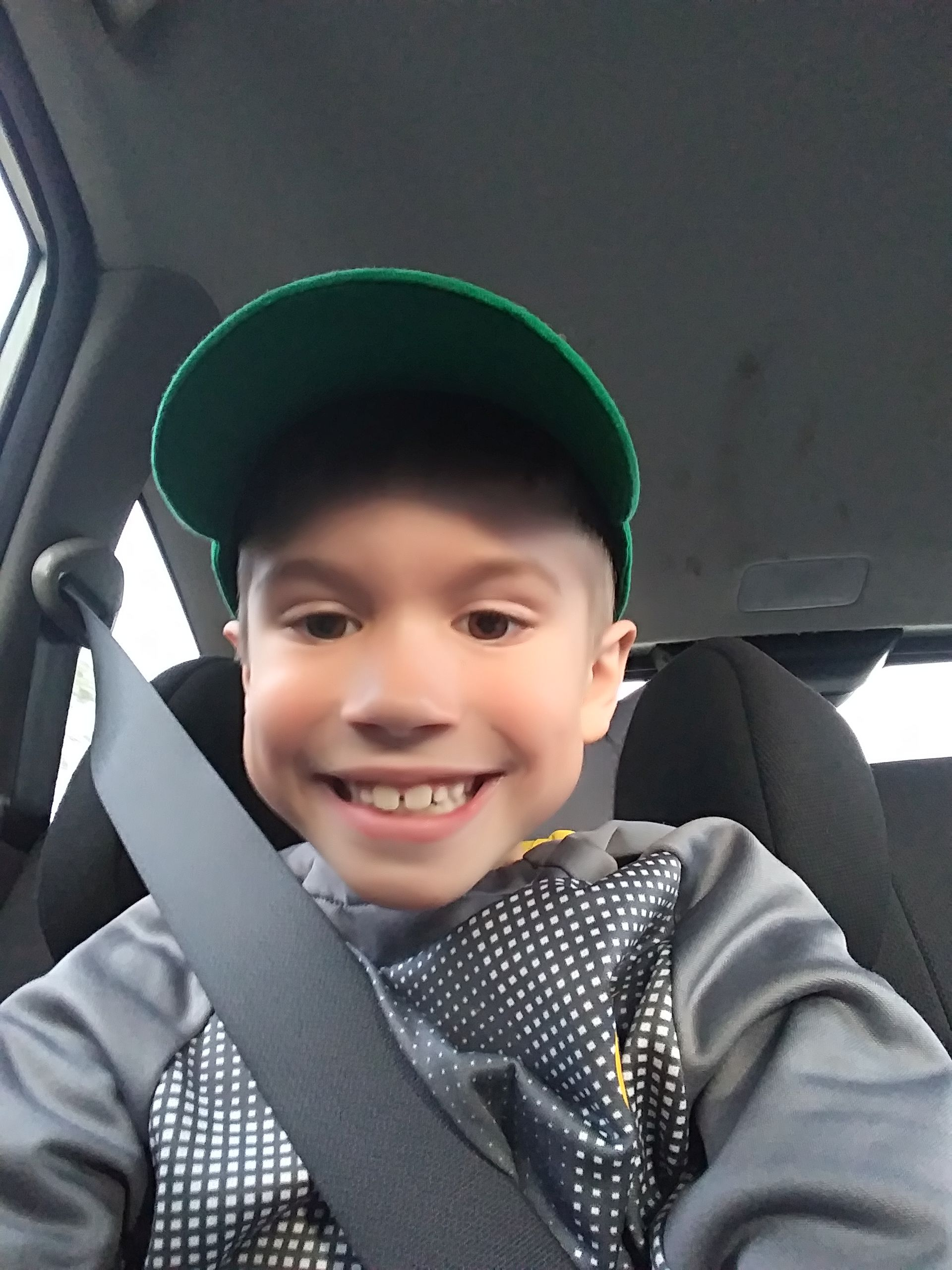 Kelsey's 7-year-old son, Holden