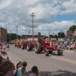 Tractors in the Pioneer Days Parade