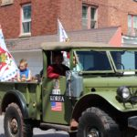 VFW Truck in the 2019 Pioneer Days parade
