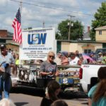 United Steel Workers float in the Pioneer Days parade