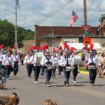 Marching Band during the Pioneer Days Parade