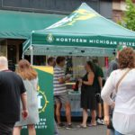 NMU's tent at the 2019 Blueberry Festival