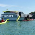Pictured Rocks Kayaking launches you right from the boat!