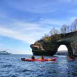 See Lovers Leap, a popular stop when seeing Pictured Rocks National Lakeshore.