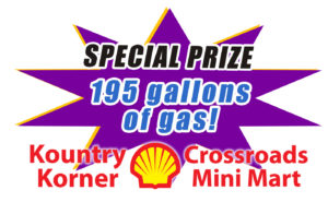 We're also giving away 195 gallons of gas!