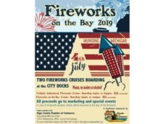 Kathy Reynolds 8th Day Interview - July 4th 2019 Munising Fireworks Cruise Chamber Fundraiser