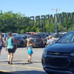 This family is looking for a new vehicle at Frei Chevrolet
