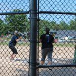 Softball fun at Community Days