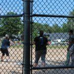 Park Chiropractic playing softball