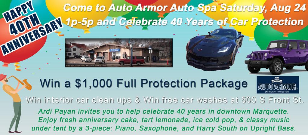 Auto Armor 40th Anniversary