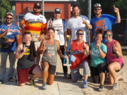 First Place winners of Community Day softball tournement