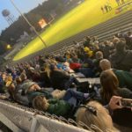 Miner fans eagerly look on as Negaunee hosted Calumet on Friday night.