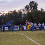 Alex Munson makes a big-time catch for Negaunee in its homecoming win over the Ishpeming Hematites on Sunny 101.9.