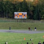 This blank scoreboard in the picture would end up in Negaunee's favor with a big 36-14 win.