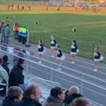 The Negaunee cheerleaders were ready to cheer on the Miners in their road win over L'Anse on Friday night.