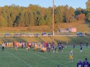 Negaunee lines up to run a play during its 36-14 win over L'Anse on Sunny 101.9.
