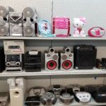Replace your stereo system or find something perfect for the kids.