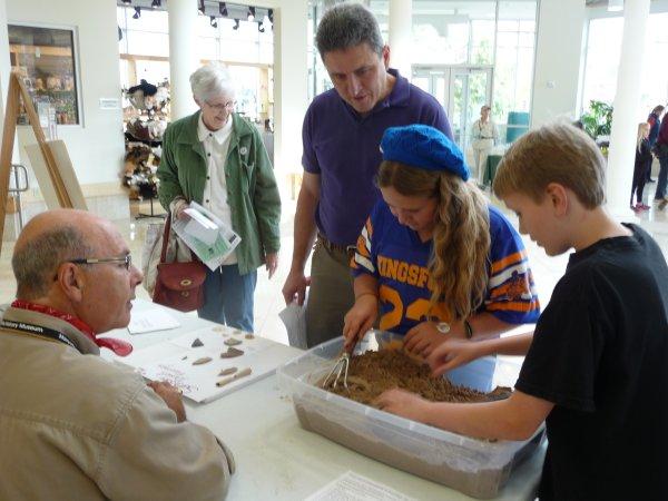 Annual Fair Archeology Fair in Marquette, Michigan