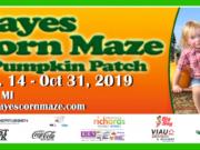 Hayes Corn Maze is open September 14 - October 31