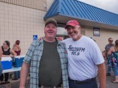 Kevin Koepp and Bill Tibor at Community Benefit for Kevin Saturday September 21st