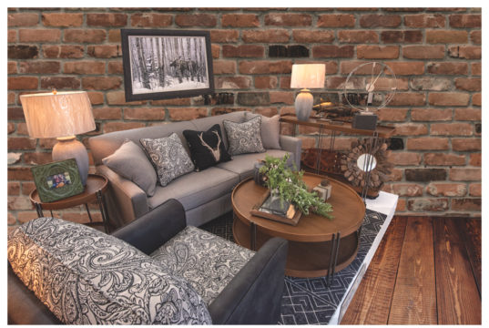 This living room set from Interiors by Design could be yours!